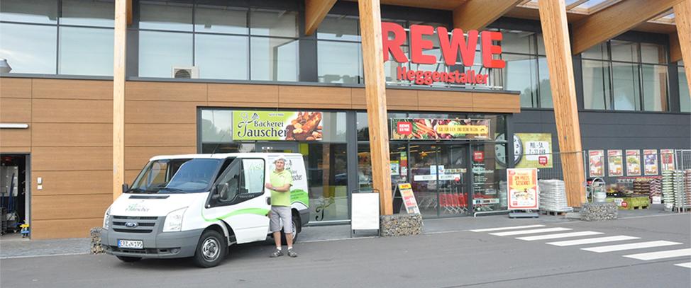 Bäckerei - Filiale im REWE Markt